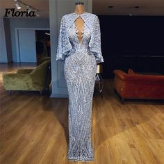 New Aibye Beading Crystal Evening Dresses African Muslim Prom Pageant Dress 2018 gala jurken Robe de soiree abendkleider Gowns _ {categoryName} - AliExpress Mobile Version - Gala Dresses, Event Dresses, Couture Dresses, Fashion Dresses, Formal Dresses, Pageant Dresses, Sexy Dresses, Mode Top, African Dress