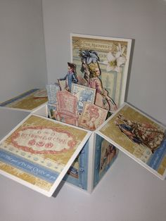 20 Quince, Sweet 16 or Wedding Invitations - 3D pop up cards in a box. by Invitorium on Etsy