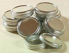 Lip Balm tins: Homeade lip balm makes a great Christmas gift!