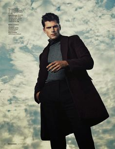 moderncity_fy7  Sean O'Pry shot by Shin Hyuna and styled by Ahn Joohyun for the Fall/Winter 2013 issue of Arena Homme+ Korea.
