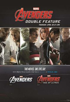 MARVEL Avengers double feature by AMC Theaters, Avengers Age of Ultron