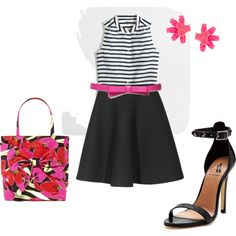 """Summer Work Outfit"" by elizabethstg on Polyvore"