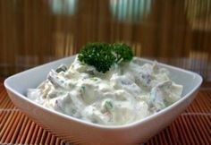 Orosz hússaláta My Recipes, Salad Recipes, Cooking Recipes, Recipies, Cold Dishes, Green Eggs And Ham, Sweet And Salty, Salad Dressing, Cabbage