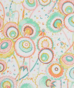 Liberty Art Fabrics Pops and Boo A Tana Lawn Cotton