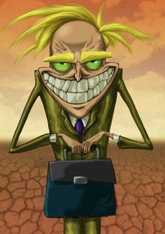 Courage the cowardly dog; Fred