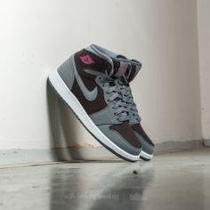 new style 61a33 15a09 Air Jordan 1 Retro High (GG) Cool Grey  Vivid Pink-Black Man