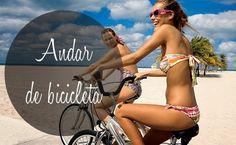 Por Dentro... em Rosa: Verão e bicicleta tudo a ver !