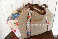 Weekender Bag ...vintage feedsack florals
