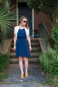 Little blue dress #outfit