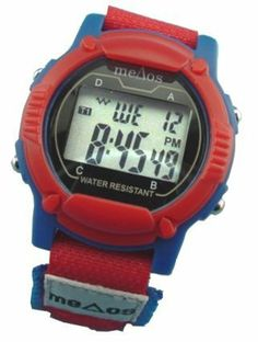 """6 Alarm Vibrating PEDIATRIC e-pill MeDose Watch with Count-down Timer by MeDose. $99.95. Pediatric Vibrating Six Alarm Medication Reminder Watch - Childrens Model Watches: MeDose Red/Blue Vibration Watch: Multi 6 Alarm Vibrating Watch for Children (Girls and Boys) & Young Adults with Velcro Band that """"looks like a regular cool watch"""". Adult Vibrating Watch.    The e-pill MeDose """"Pediatric"""" is a nicely designed medication reminder watch (vibration or sound), that looks..."""