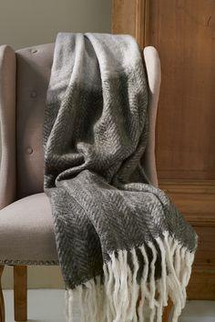 Плед серый Mohair Throw, Dressing, Textiles, Plaid, Blanket, Grey, Interior, House, Home Decor