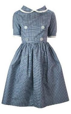 perfectly lovely vintage frock. my sister would kill for this!