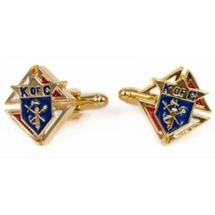 Knights Of Columbus Goldtone Cufflinks Men's
