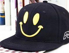 Fashion Smiley Face Kids Baseball Caps Child Boy & Girls Hip Hop Cap Children Snapback Sun Caps Baseball Hats For Baby