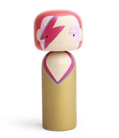 Fancy - Wooden Kokeshi Dolls by Sketch.Inc x Lucie Kaas