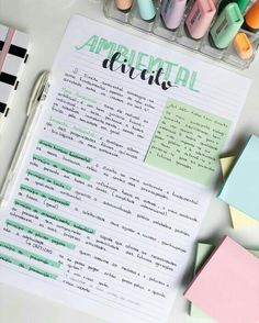 Bullet Journal Lettering Ideas, Bullet Journal Notes, Bullet Journal Writing, Bullet Journal School, Bullet Journal Ideas Pages, Daily Journal, Cute Notes, Pretty Notes, Good Notes