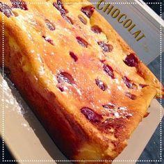 SAVEURS D'ICI - COOK ENJOY: Gâteau au Fromage Blanc et Cerises .. dessert tout doux !
