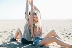 Beach, and friends