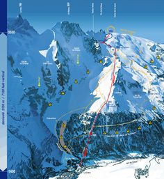 La Grave la Meije Trail Map