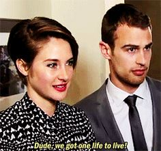 Oh No They Didn't! - Divergent's Theo James and Shailene Woodley for InStyle magazine + Theo in VF