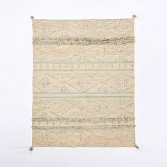 Sahara Wool Dhurrie Rug #westelm