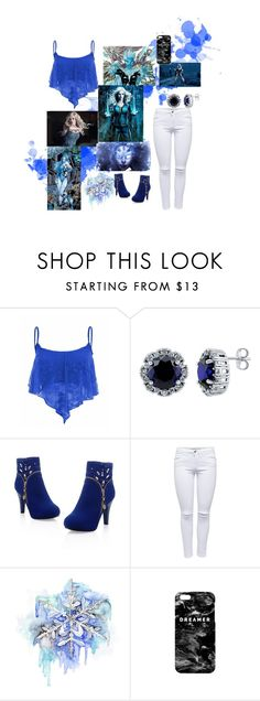 """Killer Frost"" by dreamingallday ❤ liked on Polyvore featuring BERRICLE, Disney and Mr. Gugu & Miss Go"