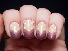 Sweetheart Tips - Zoya Naturel Collection Nail Art   Chalkboard Nails   Nail Art Blog