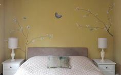 The Yellow Chinoiserie Bedroom : Accessories & decoration by The Creative Decorator