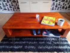 Check out this item in my Etsy shop https://www.etsy.com/uk/listing/538539494/rustic-coffee-table-made-from-reclaimed