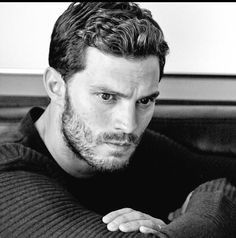 NEW pic! So serious! Gorgeous!!  thanks @FiftyShadesEN #FiftyShades #JamieDornan