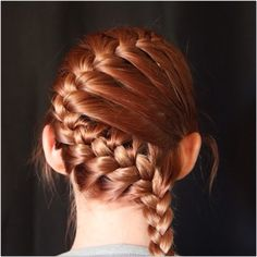 Hayley teich hayleyt6 on pinterest you can zigzag your braid by starting it like the diagonal braid and on the middle ccuart Images