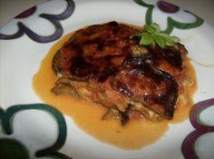 Parmigiana - italský zapečený lilek (odlehčená verze)