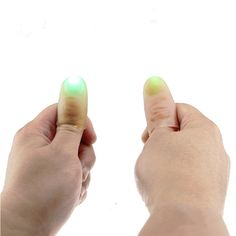 1 Pair Kids Amazing Fantastic Glow Toys Funny Novelty LED Light Flashing Fingers Magic Trick Props Children Luminous Gifts Decor #clothing,#shoes,#jewelry,#women,#men,#hats,#watches,#belts,#fashion,#style