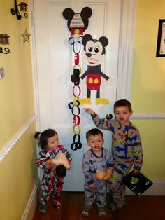 Disney Vacation Countdown Visual for Kids