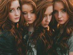 EDEN AND IVY | red head, redhead, ginger, twins