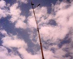 Bungee Jumping 1991- war auch in den damaligen Tagethemen zu sehen