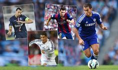 Chelsea's Eden Hazard reveals his top five players in the world