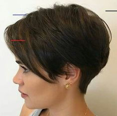 Our social Trends Latest Short Hairstyles, Short Pixie Haircuts, Cute Hairstyles For Short Hair, Pixie Hairstyles, Hairstyles 2016, Very Short Hair, Short Hair With Layers, Short Hair Cuts For Women, Natural Hair Growth