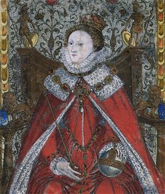1581: Detail of Coram Rege Roll of Elizabeth I for the Court of King's Bench (KB 27/1276/2)