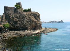 Castle of Aci Castello, for @Phil Ochoa's birthday and my own? start saving Pickles!