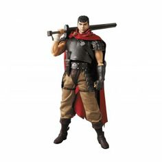 Real Action Heroes No.636 Berserk Fashion Doll: Guts Band of the Hawk ver.