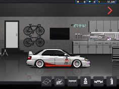 Pixel car racer Born to race subaru sti #pcr #subaru