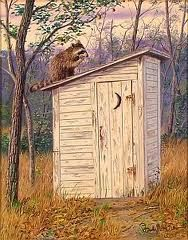 old outhouse - Google Search