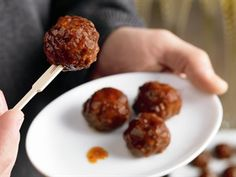 Try these mini meatballs in your slow cooker, crock pot, or whatever you call it in your kitchen!