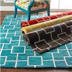 Gridwork Squares on Color - 4 colors