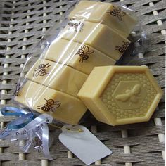 Honey soap.  Cute for guests.