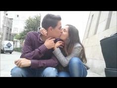 Cute couple - Alba & Juan ♥ - YouTube