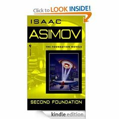 Second Foundation (Foundation Series by Isaac Asimov Foundation Series, Science Fiction Books, Book Recommendations, My Books, Reading, Series 3, Fantasy, Book Covers, Books Online