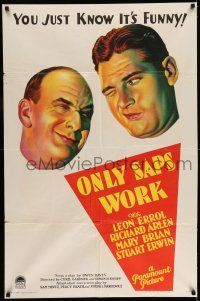 Image result for only saps work 1930