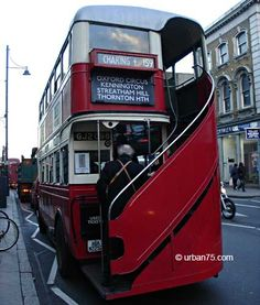 vintage routemaster bus  http://www.urban75.org/brixton/history/images/routemaster03.jpg